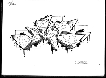Letter Graffiti - saudades de fazer graffiti